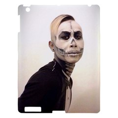 Halloween Skull And Tux  Apple Ipad 3/4 Hardshell Case by KentChua