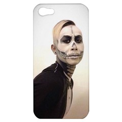 Halloween Skull And Tux  Apple Iphone 5 Hardshell Case by KentChua