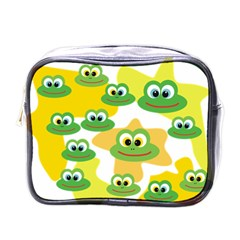 Cute Frog Family Whimsical Mini Toiletries Bags by CircusValleyMall