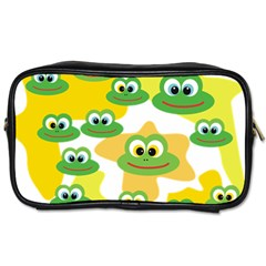 Cute Frog Family Whimsical Toiletries Bags by CircusValleyMall