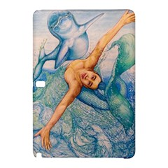 Zodiac Signs Pisces Drawing Samsung Galaxy Tab Pro 12 2 Hardshell Case by KentChua