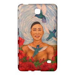 Spring Amazed By The Hummingbirds Drawing Samsung Galaxy Tab 4 (8 ) Hardshell Case  by KentChua