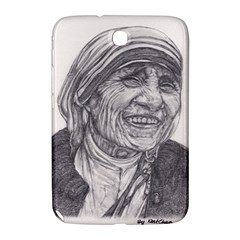 Mother Theresa  Pencil Drawing Samsung Galaxy Note 8 0 N5100 Hardshell Case  by KentChua