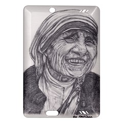 Mother Theresa  Pencil Drawing Kindle Fire Hd (2013) Hardshell Case by KentChua