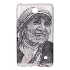 Mother Theresa  Pencil Drawing Samsung Galaxy Tab 4 (8 ) Hardshell Case  by KentChua