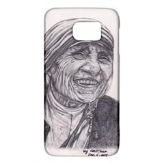 Mother Theresa  Pencil Drawing Galaxy S6 by KentChua
