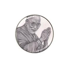 Dalai Lama Tenzin Gaytso Pencil Drawing Hat Clip Ball Marker (10 Pack)