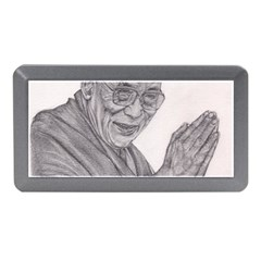 Dalai Lama Tenzin Gaytso Pencil Drawing Memory Card Reader (mini) by KentChua