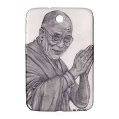 Dalai Lama Tenzin Gaytso Pencil Drawing Samsung Galaxy Note 8 0 N5100 Hardshell Case  by KentChua