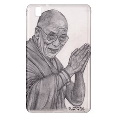 Dalai Lama Tenzin Gaytso Pencil Drawing Samsung Galaxy Tab Pro 8 4 Hardshell Case by KentChua
