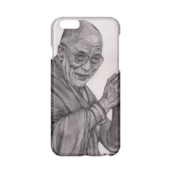 Dalai Lama Tenzin Gaytso Pencil Drawing Apple Iphone 6/6s Hardshell Case by KentChua