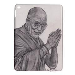Dalai Lama Tenzin Gaytso Pencil Drawing Ipad Air 2 Hardshell Cases by KentChua
