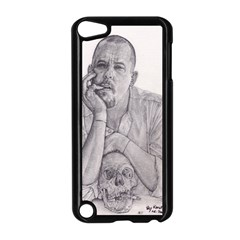 Alexander Mcqueen Pencil Drawing Apple Ipod Touch 5 Case (black) by KentChua