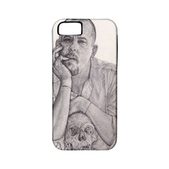 Alexander Mcqueen Pencil Drawing Apple Iphone 5 Classic Hardshell Case (pc+silicone) by KentChua
