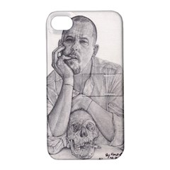 Alexander Mcqueen Pencil Drawing Apple Iphone 4/4s Hardshell Case With Stand by KentChua