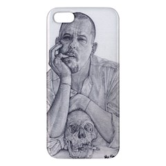 Alexander Mcqueen Pencil Drawing Apple Iphone 5 Premium Hardshell Case by KentChua