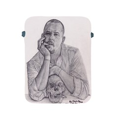 Alexander Mcqueen Pencil Drawing Apple Ipad 2/3/4 Protective Soft Cases by KentChua