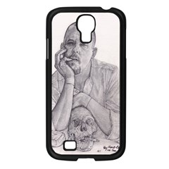 Alexander Mcqueen Pencil Drawing Samsung Galaxy S4 I9500/ I9505 Case (black) by KentChua
