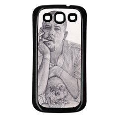 Alexander McQueen Pencil Drawing Samsung Galaxy S3 Back Case (Black) by KentChua
