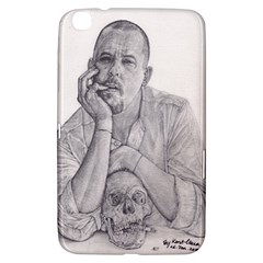 Alexander Mcqueen Pencil Drawing Samsung Galaxy Tab 3 (8 ) T3100 Hardshell Case  by KentChua