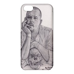 Alexander Mcqueen Pencil Drawing Apple Iphone 5c Hardshell Case by KentChua