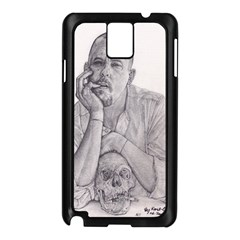 Alexander Mcqueen Pencil Drawing Samsung Galaxy Note 3 N9005 Case (black) by KentChua