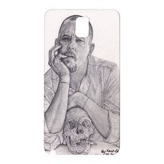 Alexander Mcqueen Pencil Drawing Samsung Galaxy Note 3 N9005 Hardshell Back Case by KentChua