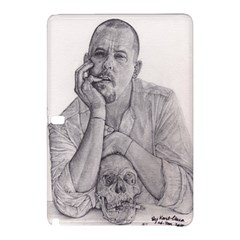 Alexander Mcqueen Pencil Drawing Samsung Galaxy Tab Pro 10 1 Hardshell Case by KentChua