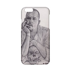Alexander Mcqueen Pencil Drawing Apple Iphone 6/6s Hardshell Case by KentChua