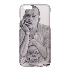 Alexander Mcqueen Pencil Drawing Apple Iphone 6 Plus/6s Plus Hardshell Case by KentChua