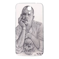 Alexander Mcqueen Pencil Drawing Samsung Galaxy Mega I9200 Hardshell Back Case by KentChua