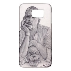 Alexander Mcqueen Pencil Drawing Galaxy S6 by KentChua