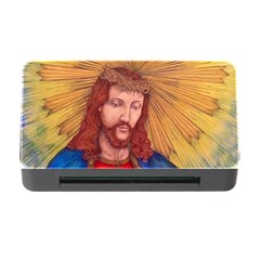 Scared Heart Of Jesus Christ Drawing Memory Card Reader With Cf by KentChua