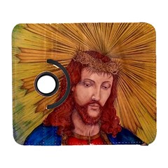 Sacred Heart Of Jesus Christ Drawing Samsung Galaxy S  Iii Flip 360 Case by KentChua