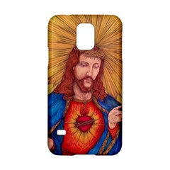 Sacred Heart Of Jesus Christ Drawing Samsung Galaxy S5 Hardshell Case  by KentChua