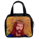 Sacred Heart Of Jesus Christ Drawing Classic Handbags (2 Sides) Front
