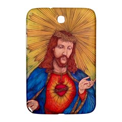 Sacred Heart Of Jesus Christ Drawing Samsung Galaxy Note 8 0 N5100 Hardshell Case  by KentChua