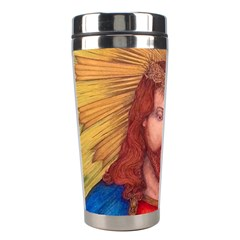 Sacred Heart Of Jesus Christ Drawing Stainless Steel Travel Tumblers by KentChua