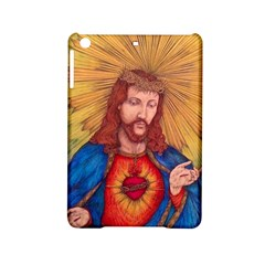 Sacred Heart Of Jesus Christ Drawing Ipad Mini 2 Hardshell Cases by KentChua