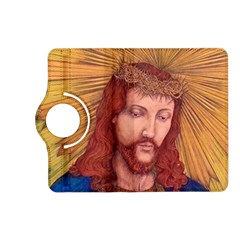 Sacred Heart Of Jesus Christ Drawing Kindle Fire Hd (2013) Flip 360 Case by KentChua