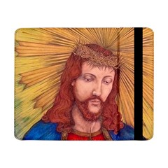 Sacred Heart Of Jesus Christ Drawing Samsung Galaxy Tab Pro 8 4  Flip Case by KentChua