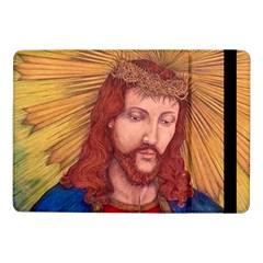 Sacred Heart Of Jesus Christ Drawing Samsung Galaxy Tab Pro 10 1  Flip Case by KentChua