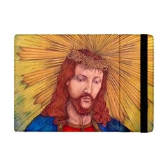 Sacred Heart Of Jesus Christ Drawing Ipad Mini 2 Flip Cases by KentChua