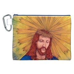 Sacred Heart Of Jesus Christ Drawing Canvas Cosmetic Bag (xxl)  by KentChua