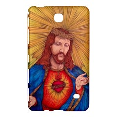 Sacred Heart Of Jesus Christ Drawing Samsung Galaxy Tab 4 (8 ) Hardshell Case  by KentChua