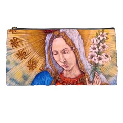 Immaculate Heart Of Virgin Mary Drawing Pencil Cases by KentChua