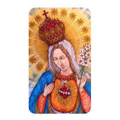 Immaculate Heart Of Virgin Mary Drawing Memory Card Reader by KentChua
