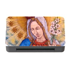 Immaculate Heart Of Virgin Mary Drawing Memory Card Reader With Cf by KentChua