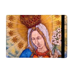 Immaculate Heart Of Virgin Mary Drawing Apple Ipad Mini Flip Case by KentChua