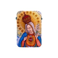 Immaculate Heart Of Virgin Mary Drawing Apple Ipad Mini Protective Soft Cases by KentChua